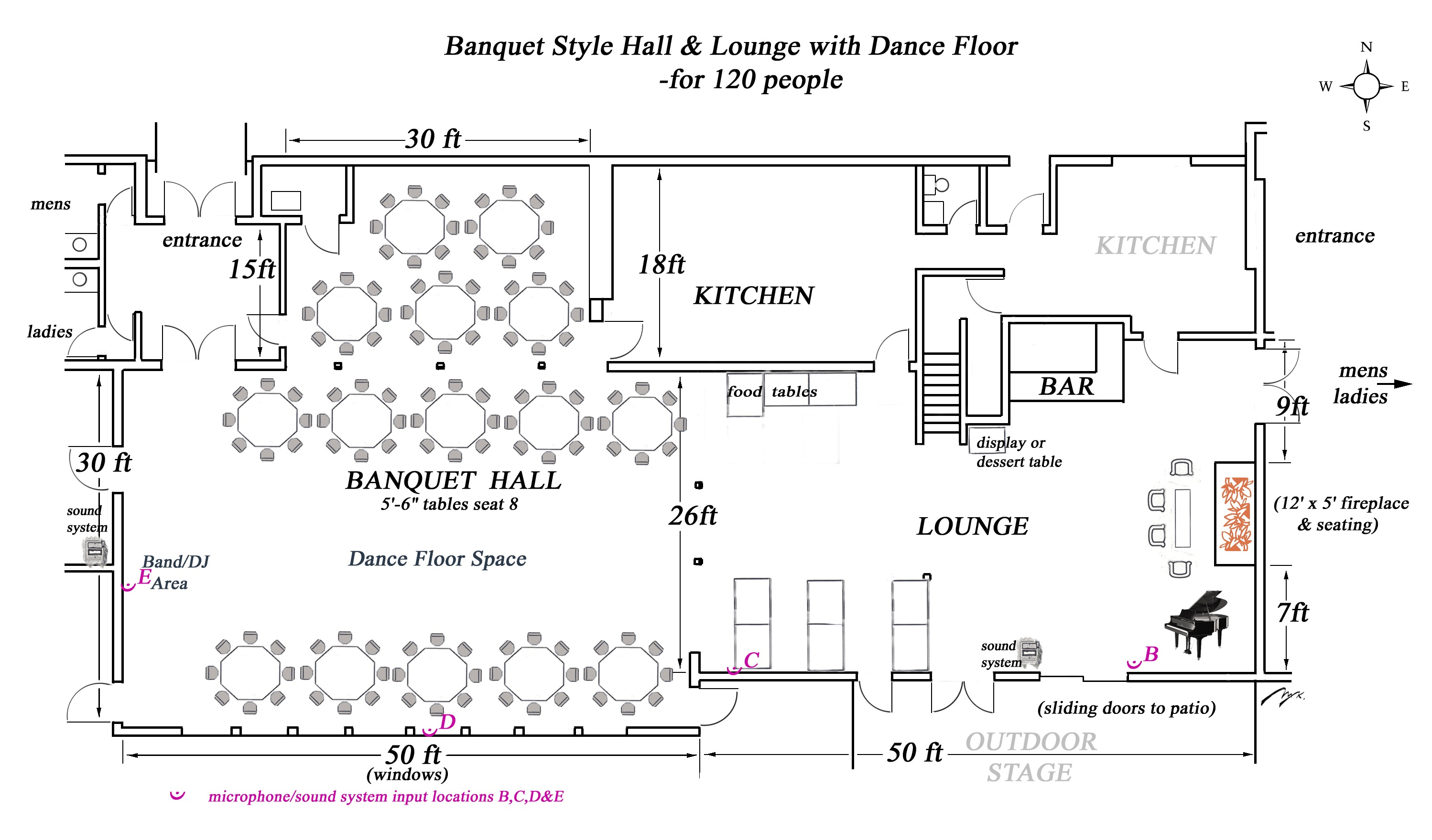 Casual Seating Areas And Wedding Floor Plan On Pinterest