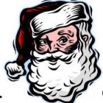 Santa in cap