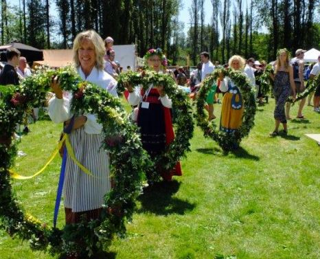 Scandinavian Midsummer Festival June 22 and 23