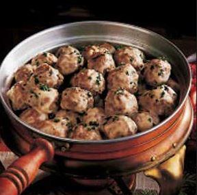 Norwegian Meatball Dinner