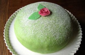 SOLD OUT Nordic Baking Class Princess Cake