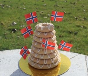 Nordic Baking Kransekage