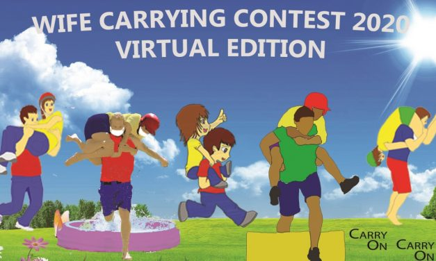 Wife Carrying: Virtual Edition