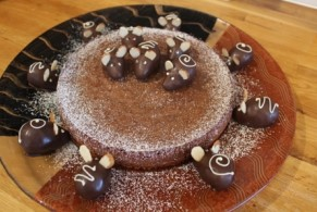 Nordic Baking: Chocolate Cake with Mice